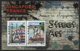 Singapore (2015)  - Block -   /  Joint Issue With France - Eiffel - Gezamelijke Uitgaven