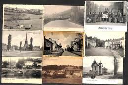 Belgique - Sélection De 58 Cartes (animée, Précurseur, Oldtimer, Gare, Caserne, Kiosque Tram Carte-système... - Cartes Postales