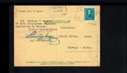 1935 - Hungary Postcard [B07_089] - Hongarije