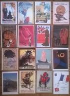 Lot De 16 Cartes Postales GUERRE 39/45 Propagande Militaire /a - War 1939-45