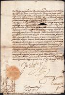 """4 1571 - FILIPPO II DI SPAGNA - Lettera Da Madrid 6/11/1571 A Firma """"jo El Rey"""" Di Filippo II, Re Di S... - Autographs"""