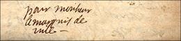 9 1658 - CRISTINA DI BORBONE - Piccola Lettera Autografa Scritta Il 23/4/1658 Da Cristina Di Borbone, ... - Autographs