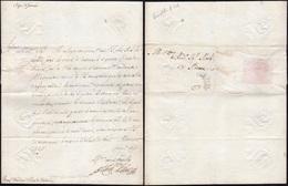 10 1691 - RINALDO D'ESTE - Lettera Da Modena 17/1/1691 A Roma, A Firma Autografa Di Rinaldo D'Este, Fig... - Autographs