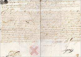 14 1714 - EUGENIO DI SAVOIA - Patente Autografa Di Eugenio Di Savoia, Datata 24/1/1714, Con Splendido S... - Autographs