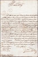 15 1747 - FRANCESCO III D'ESTE - Lettera Del 10/2/1747 A Firma Di Francesco III, Duca Di Modena E Reggi... - Autographs