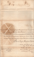 16 1763 - AUGUSTO III DI POLONIA  - Lettera Da Varsavia 1/12/1763 A Firma Di Augusto III, Re Di Polonia... - Autographs
