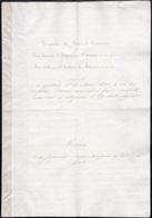21 1830 - Trascrizione E Traduzione In Italiano Del Trattato Di Pace E Di Commercio Tra L'Imperatore D'... - Autographs