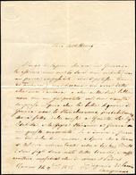 22 1835 - EUGENIO DI SAVOIA CARIGNANO - Lettera Autografa Scritta A Torino 14/11/1835 Con Firma. Rare L... - Autographs