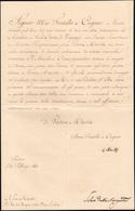 23 1841 - CARLO ALBERTO DI SAVOIA - Lettera Datata Torino 3/2/1841 A Firma Di Carlo Alberto, Re Di Sard... - Autographs