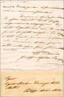 26 1860 Ca. - GIUSEPPE NAPOLEONE BONAPARTE - Lettera Autografa Indirizzata Al Marchese Vincenzo Autieri... - Autographs