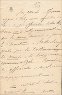 28 1900 Ca. - VITTORIO EMANUELE III - Lettera Autografa Di Vittorio Emanuele III, Re D'Italia. Rare Le ... - Autographs