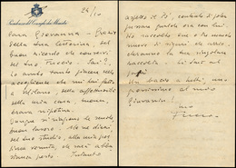 30 1946 - FERRUCCIO PARRI - Lettera Autografa Con Firma Datata Roma 24/10/1945 Di Ferruccio Parri, Pres... - Autographs