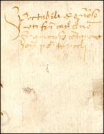 35 1455 - Lettera Completa Di Testo Da Treviso 24/10/1455 A Torcello.... - Italy