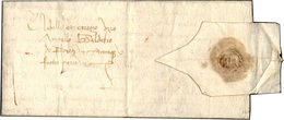 39 1460 - Lettera Completa Di Testo Da Mantova 13/7/1460 A Firenze, Nizza Di Chiusura Al Verso. Bella! ... - Italy