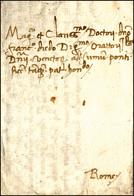42 1482 - Lettera Completa Di Testo Da Venezia Marzo 1482 A Roma.... - Italy