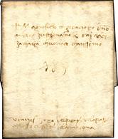 45 1486 - Lettera Completa Di Testo Da Cividale 4/3/1486 A Venezia.... - Italy
