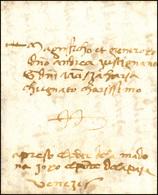 47 1487 - Lettera Completa Di Testo Da Cividale 5/3/1487 A Venezia.... - Italy