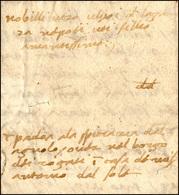 48 1489 - Lettera Completa Di Testo Da Montagnana A Napoli.... - Italy