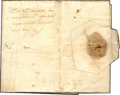 49 1491 - Lettera Completa Di Testo Da Alessandria 3/12/1491 Indirizzata A Ludovico Maria Sforza, Detto... - Italy