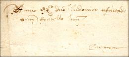 50 1492 - Lettera Completa Di Testo Da Roma 21/10/1492 A Cremona, Con Nizza Con Piccolo Sigillo Cereo O... - Italy