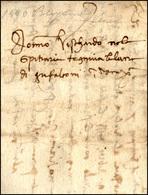 52 1496 - Lettera Completa Di Testo Da Bergamo 14/10/1496 A Venezia.... - Italy