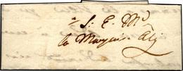 54 1500 Ca. - Splendida Minilettera 7,5 X 2,7 Cm., Indirizzata Alla Marchesa Aly. Per Amatore, Delizios... - Italy