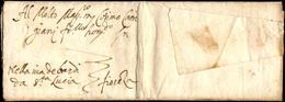 55 1542 - Lettera Completa Di Testo Da Pisa 1873/1542 A Firenze, Nizza Di Chiusura Al Verso.... - Italy