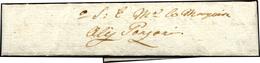 57 1550 Ca. - Splendida Minilettera, Dimensioni 9 X 2 Cm., Con Parte Di Sigillo In Cerolacca Nera Al Ve... - Italy