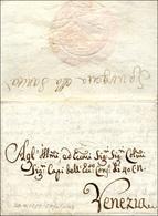 60 1782 - Sovracoperta Di Lettera, Contenente Ancora Il Testo Manoscritto, Da Cefalonia 2074/1782 A Ven... - Italy
