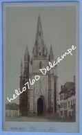 Rare CdV Bretagne 56 Morbihan Hennebont église Notre Dame De Paradis Vers 1865 Photo PEPIN De Laval - Photos