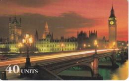 TARJETA DE GLOBALONE DEL BIG BEN DE LONDRES EXPIRES 08/97 - Phonecards