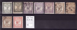 Lot Taxe 1908-25 Obli F98 - France
