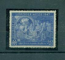 Bizone, Leipziger Messe Nr. 942 I D Postfrisch ** - American/British Zone