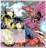 Mongolia 1995 X-men Wolverine Magneto - Mongolia