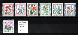 Lot Taxe 1964-71 N** F106 - Colecciones Completas