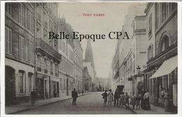 75 - TOUT PARIS 07 - #1170 - Rue De Las-Cases - Clocher De L'Église Ste-Clotilde ++++ F. FLEURY ++++ 1912 - District 07