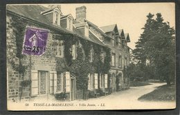 CPA - TESSE LA MADELEINE - Villa Javin - France