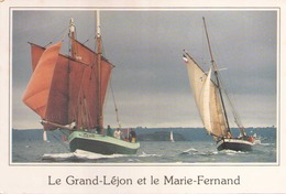 LE GRAND LEJON ET LE MARIE FERNAND - Voiliers