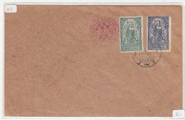 Kingdom SHS, Croatian Philatelic Society Zagreb 1919 Pmk On Letter Cover B180625 - Croatie