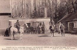 V15354 Cpa 86 Forêt De La Guerche - Le Rond Du Chêne Par Le Grand Pressigny - Unclassified