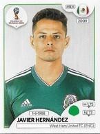 VIGNETTE PANINI FIFA WORLD CUP RUSSIA 2018 MEXIQUE JAVIER HERNANDEZ N°470 - Panini