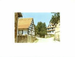 Photo Collée Sur Carton - Lieux - Alsace - Obersoultzbach - - Lieux