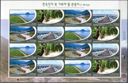 Korea South. 2016. Pedestrian Routes (MNH OG **) Miniature Sheet - Korea (Süd-)
