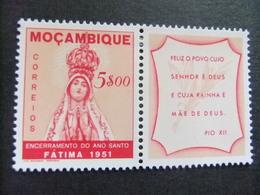 MOCAMBIQUE Mozambique 1951 Clausura Del Ano Santo FATIMA Yvert 411 * MH - Mosambik