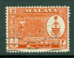 Malaya - Penang: 1960   Pictorial   SG56    2c     Used - Penang