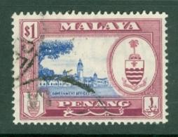 Malaya - Penang: 1960   Pictorial   SG63    $1     Used - Penang