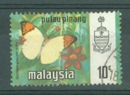 Malaya - Penang: 1971/78   Butterflies   SG79    10c   [Litho]   Used - Penang