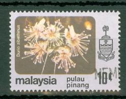 Malaya - Penang: 1979   Flowers    SG89    10c    Used - Penang