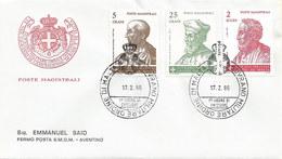 Malta - Malteserorden 1986: 2x FDC Mit Nr. 245-250 #X78 - Malta (Orden Von)