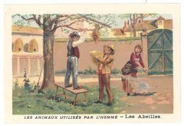Chromo : Les Animaux Utilisés Par L'homme : Les Abeilles ( Nid, Ruche, Apiculteur ) - Autres